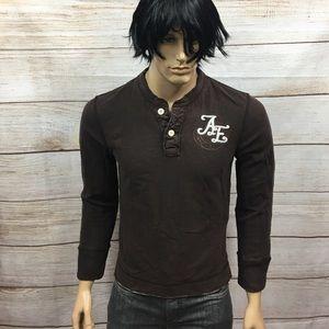 Men's American Eagle Vintage Fit Henley Shirt M